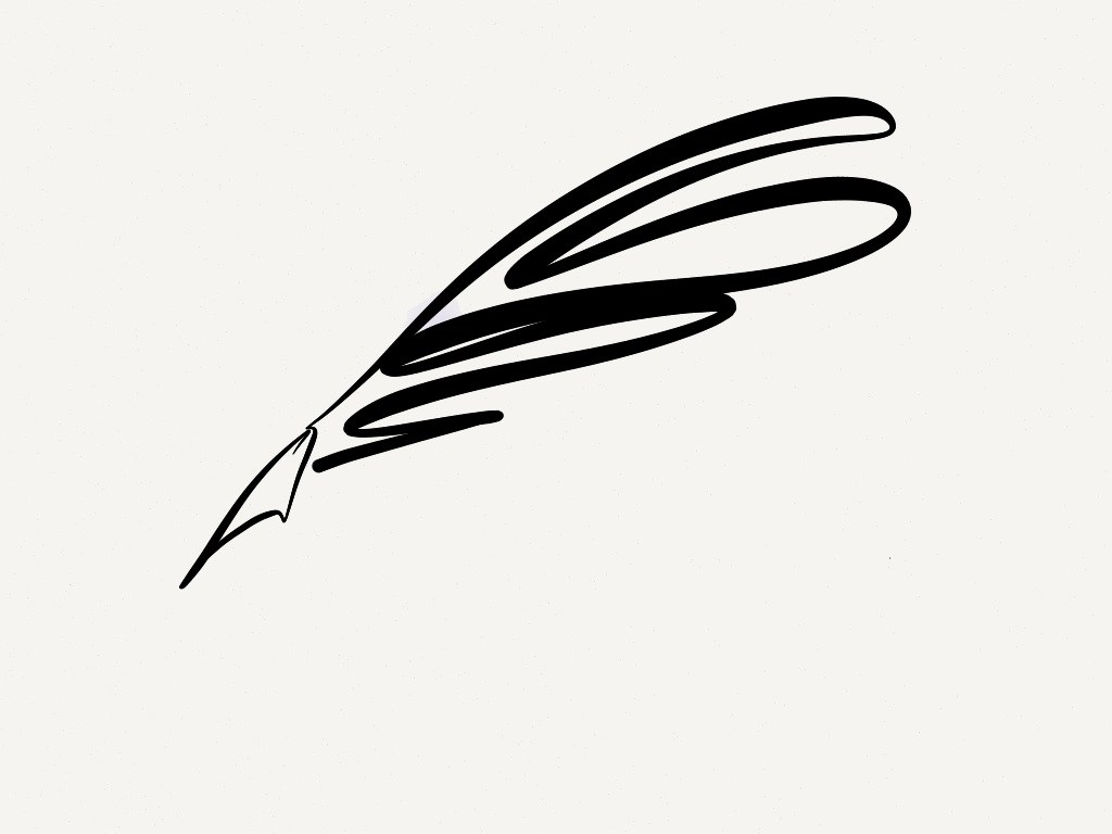 Picture Of A Quill Pen