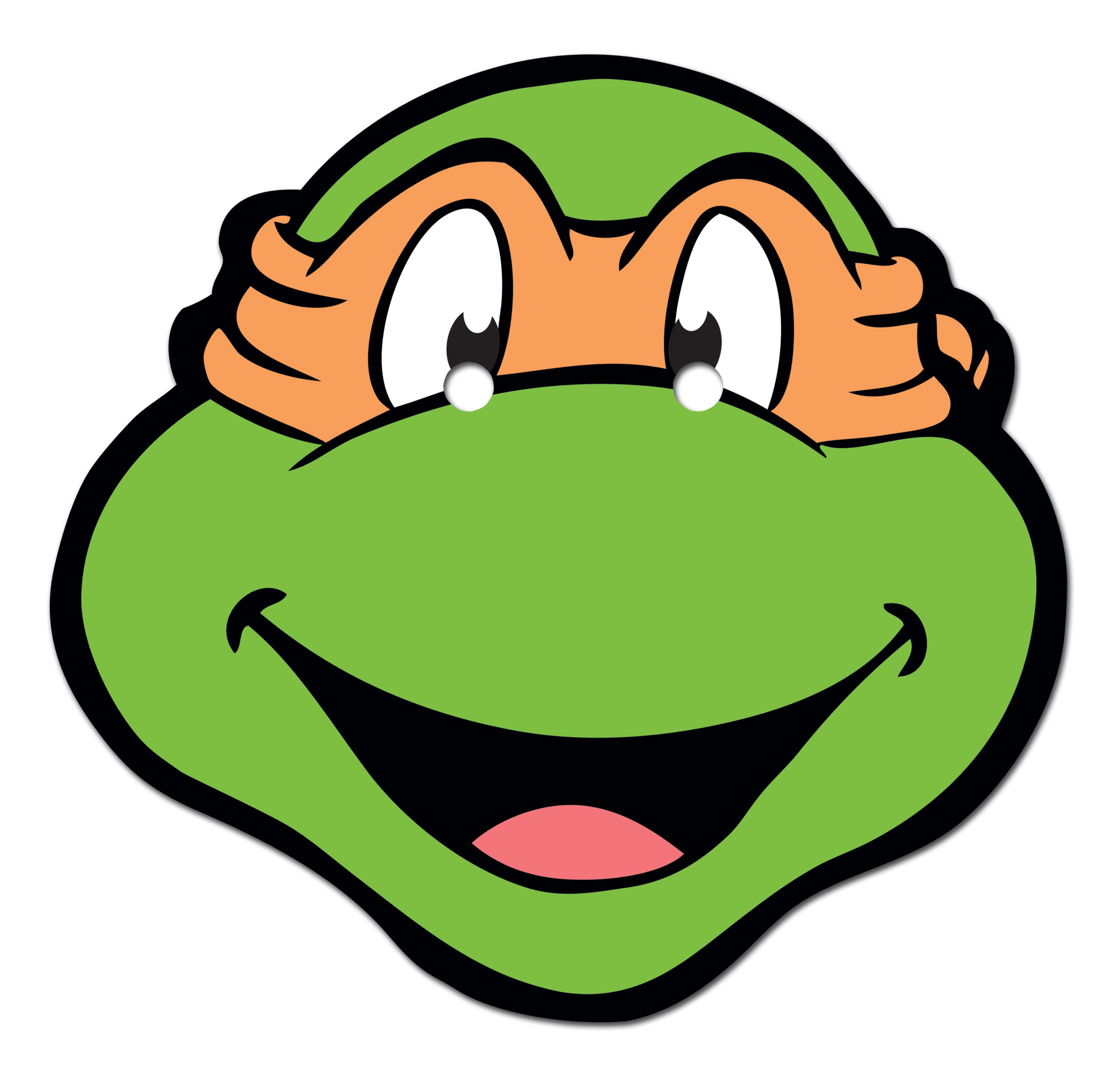 Ninja Turtle Printable Mask