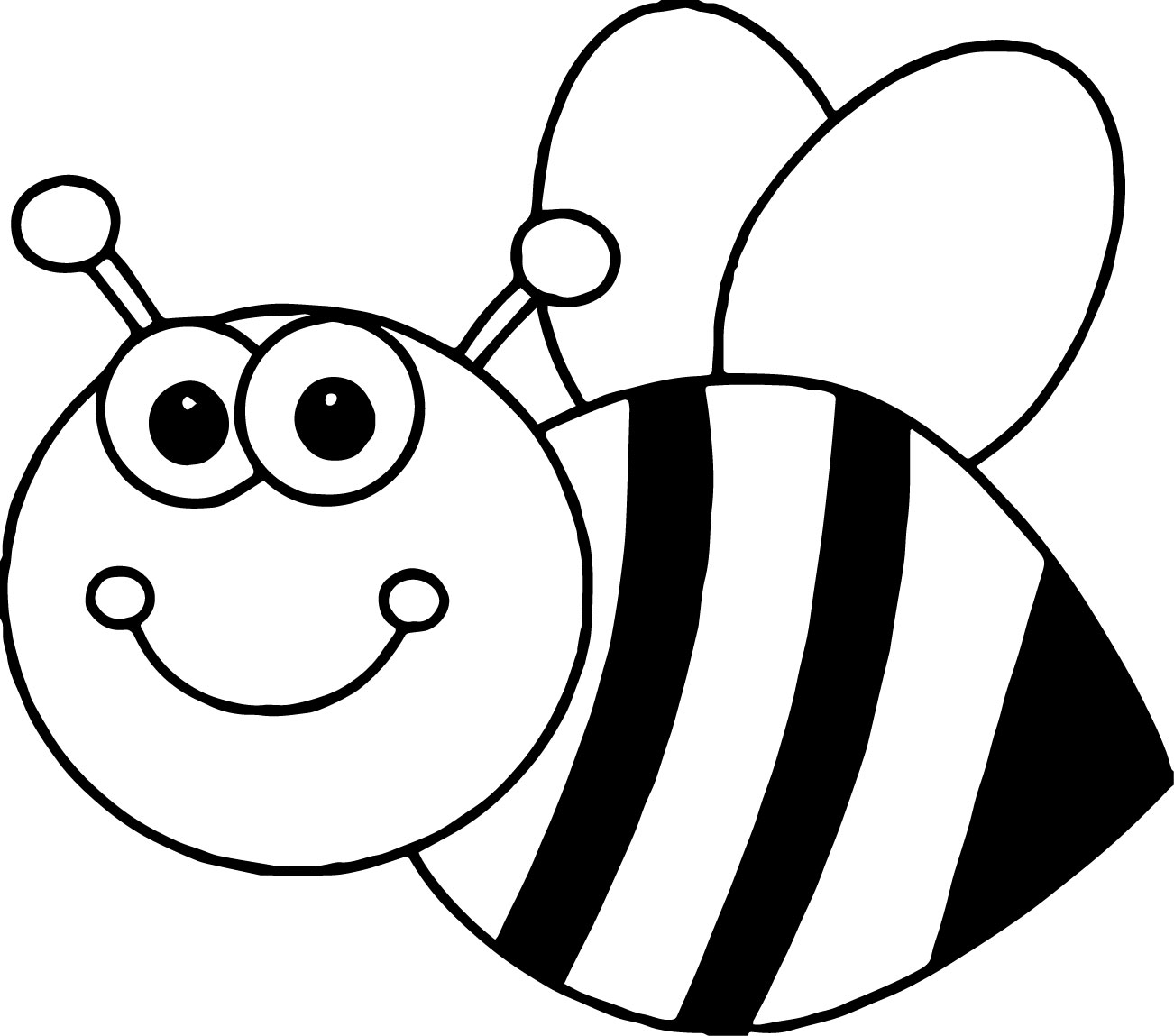 Coloring Bee