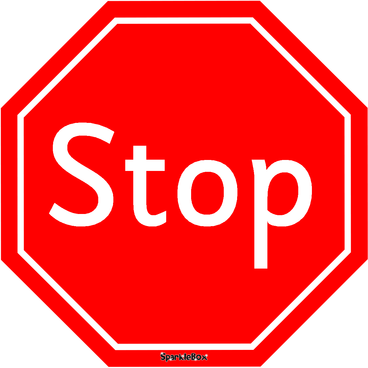 Free Printable Stop Sign
