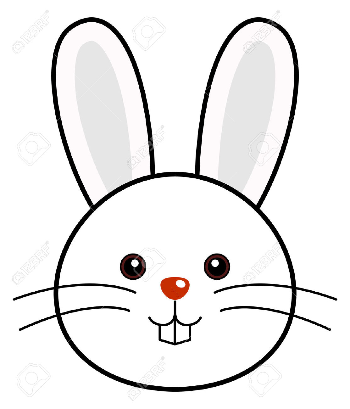Picture Of Cartoon Bunny
