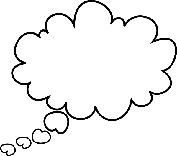 Image result for Free thought bubble clip Art transparent