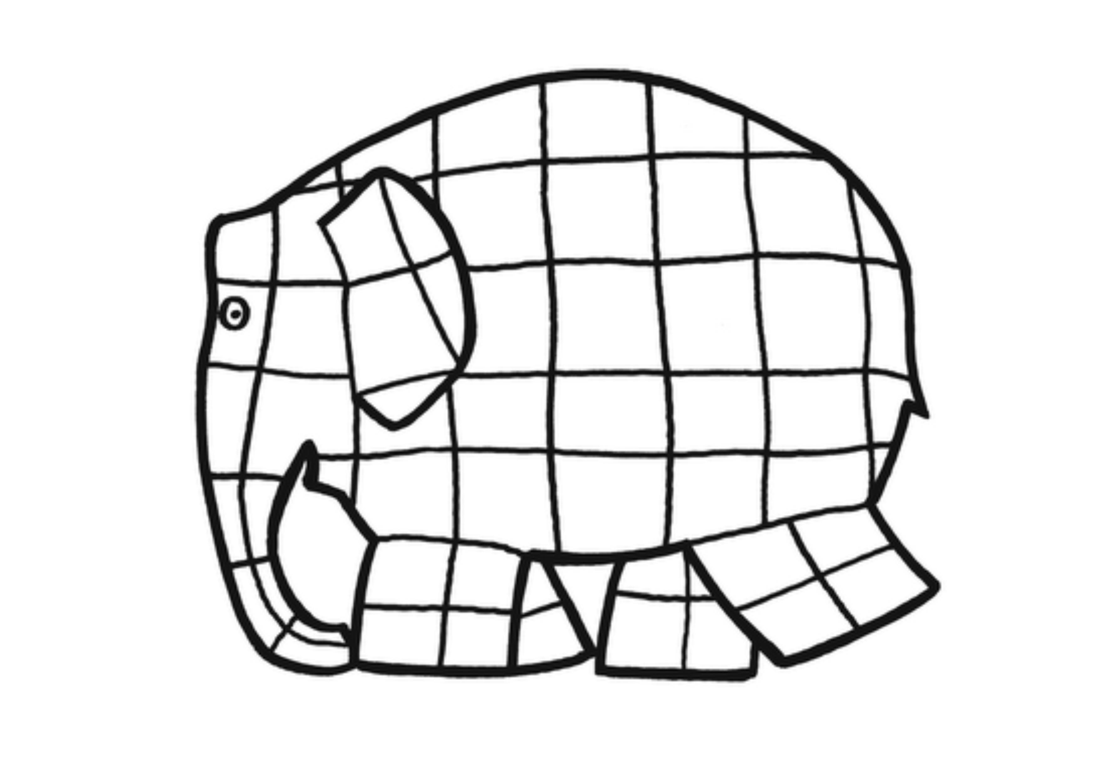 Best Templates Elmer The Elephant Template