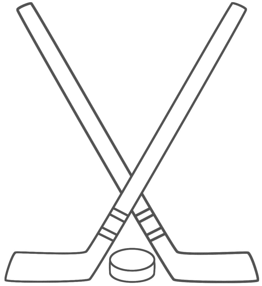 Cartoon Hockey Stick