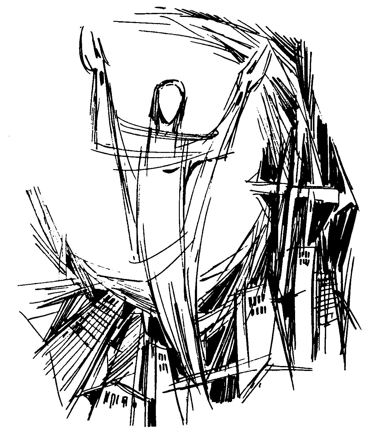 Resurrection Clipart Black And White