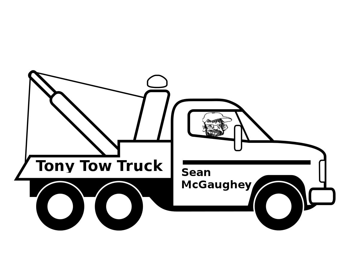 Simple Cartoon Tow