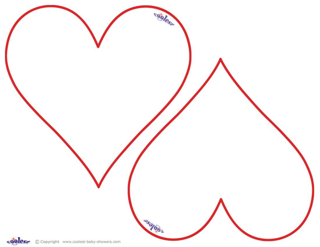 Heart Shape Stencil