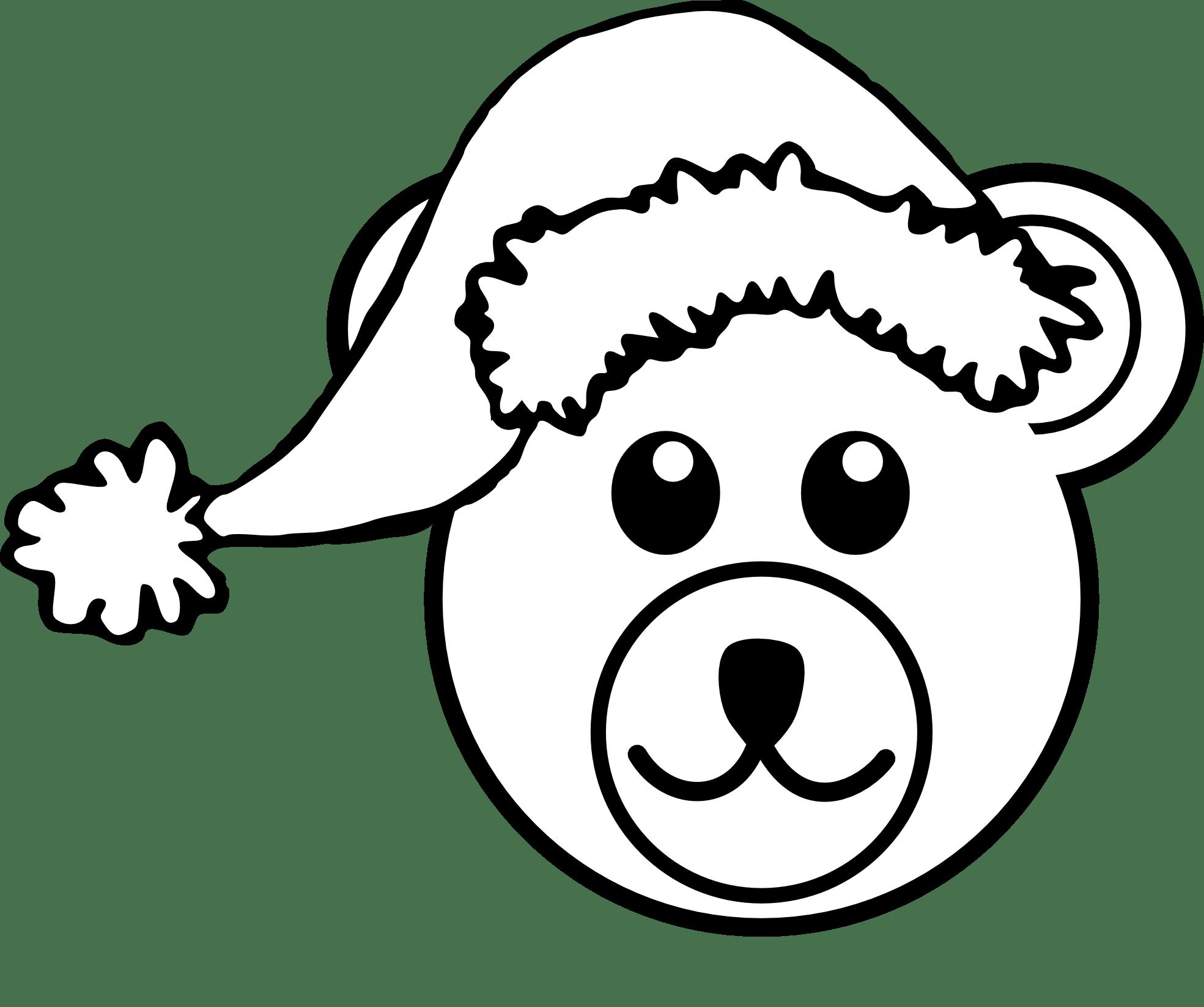 Clip Art Teddy Bear Outline