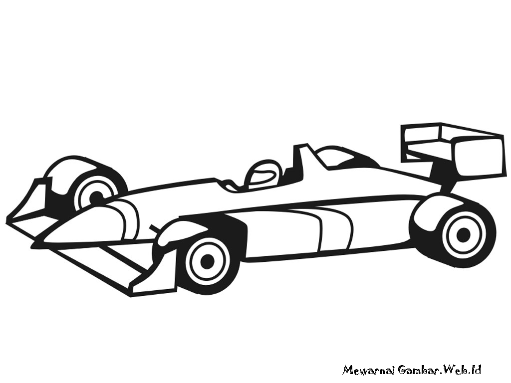 Indy Car Clip Art