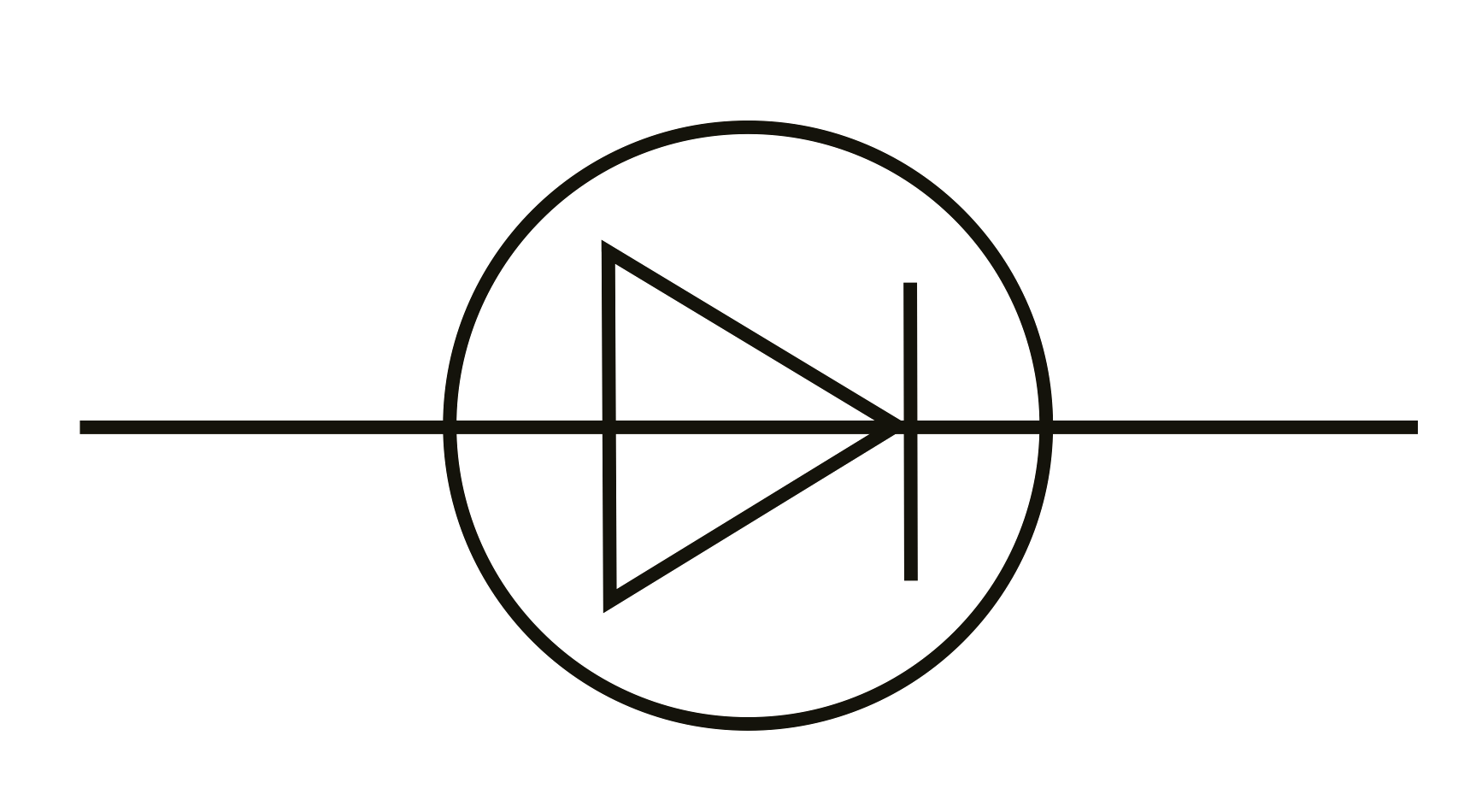 Component Circuit Symbol For A Cell Electrical Schematic