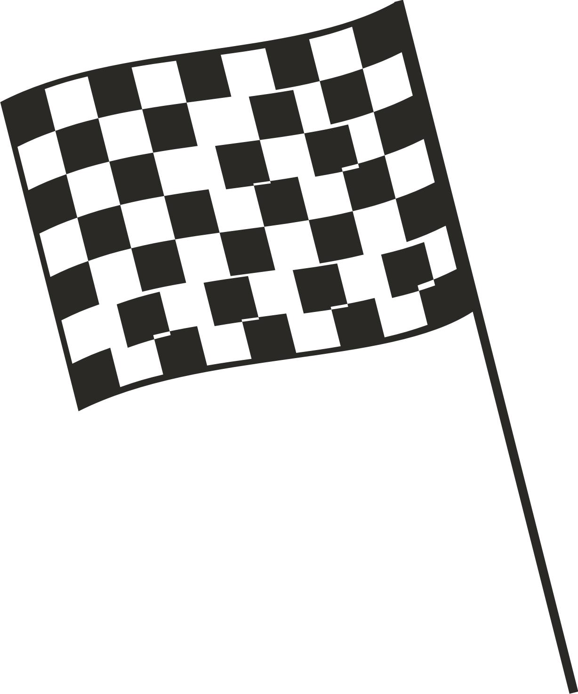Racecar Flag Clipart