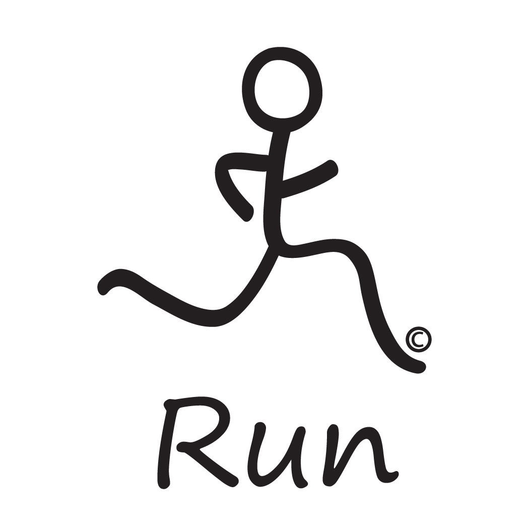 Stick Man Runnig