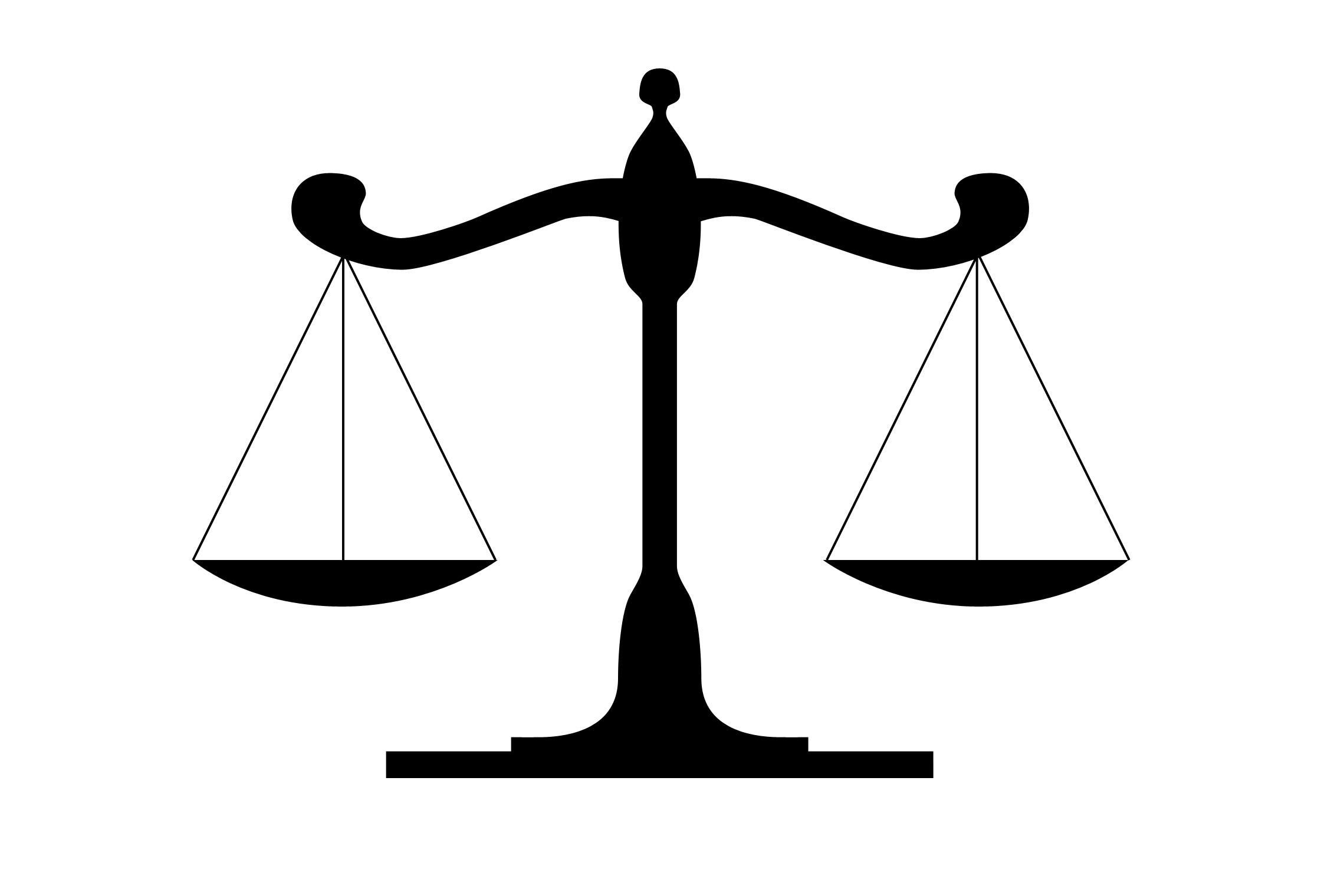 Justice Scales Clipart