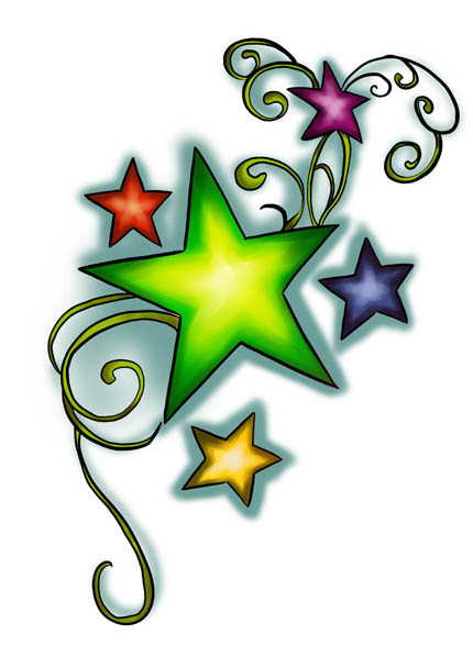 Star Tattoo Designs 9 - Free Download Tattoo #4857 Star ...