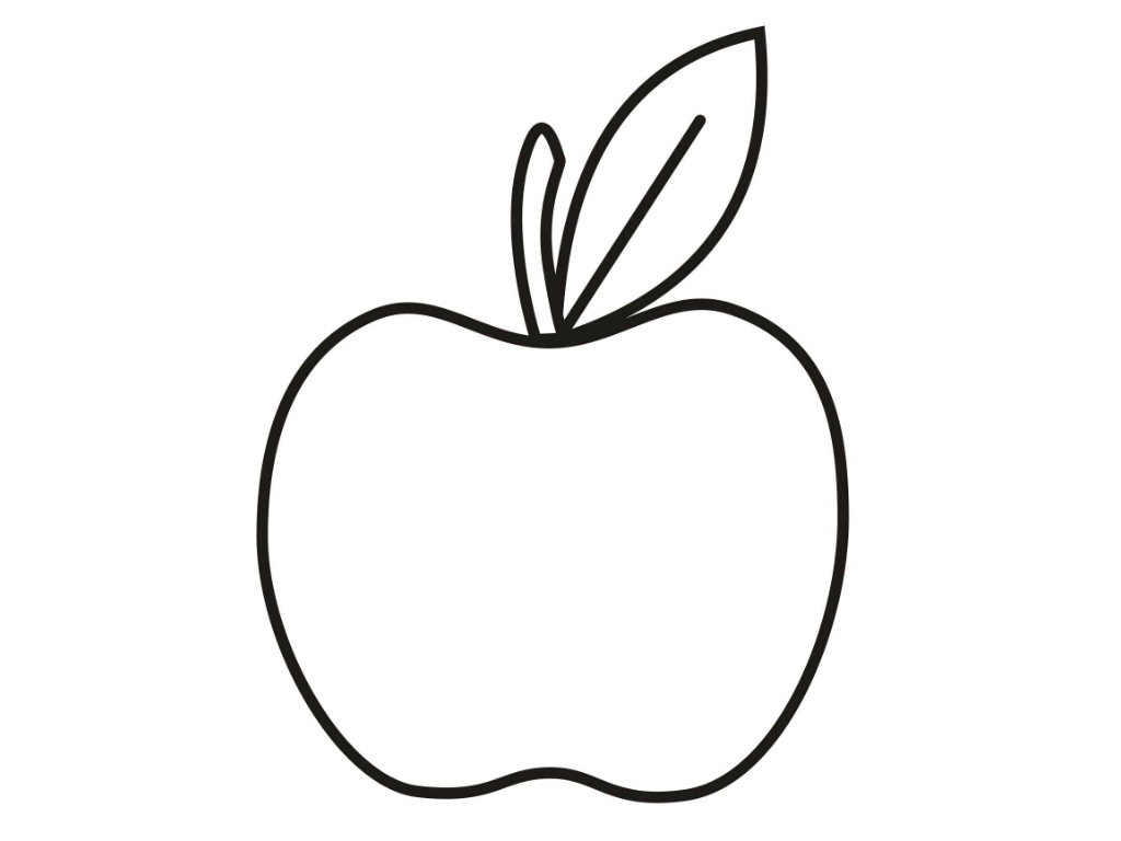 Colouring Images Of Apple