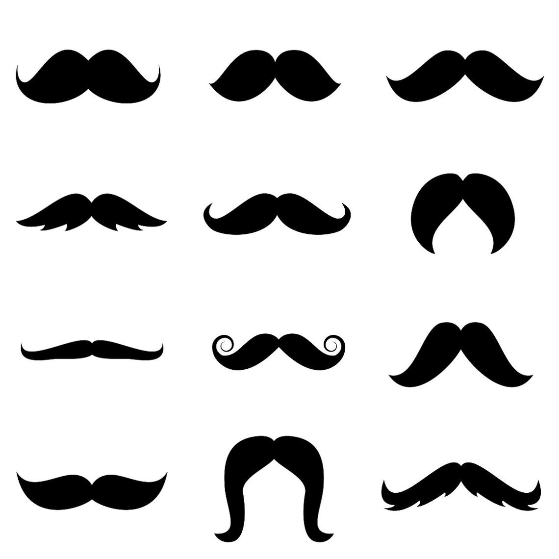 Mustache Graphic