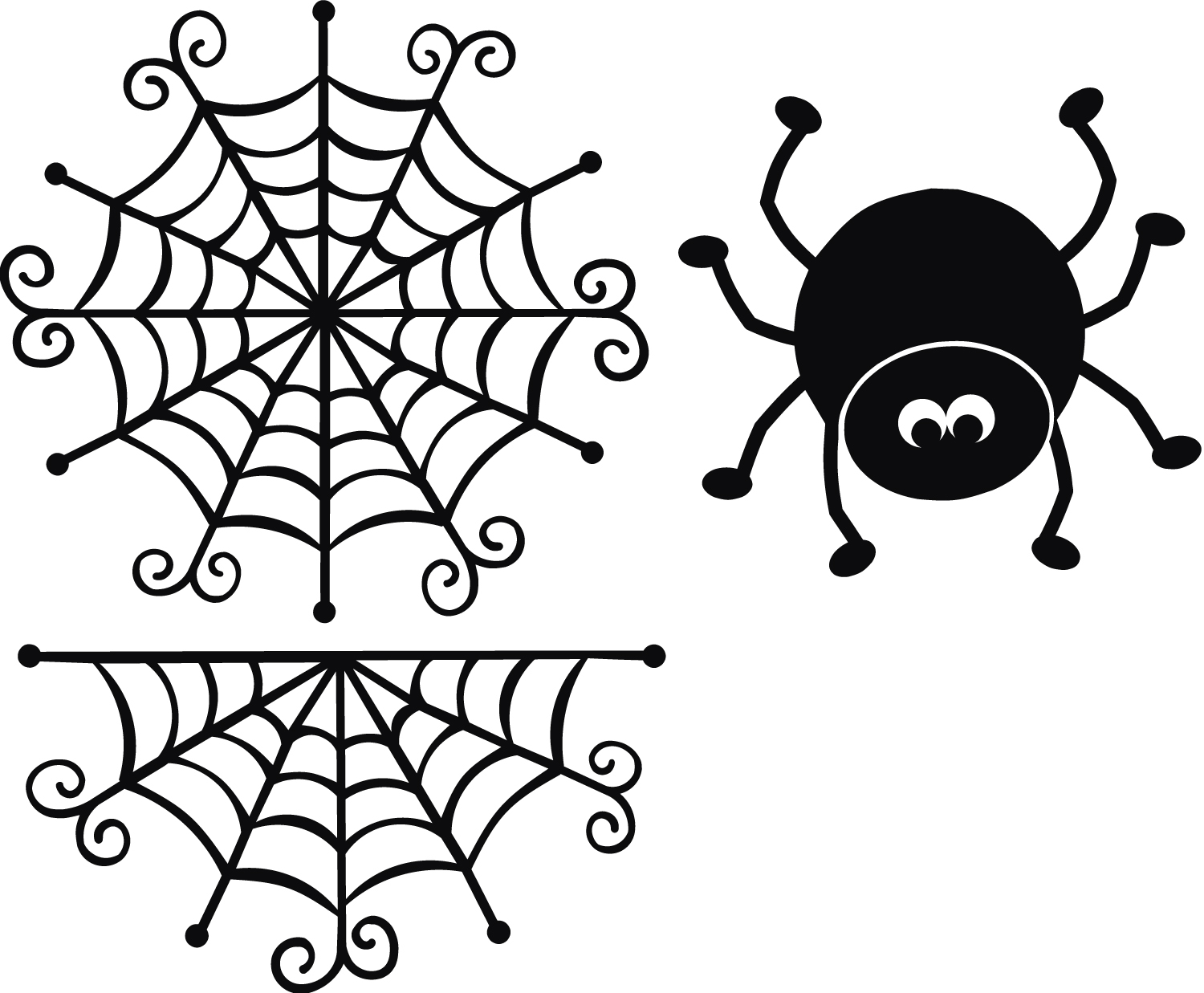 Spider Web Template