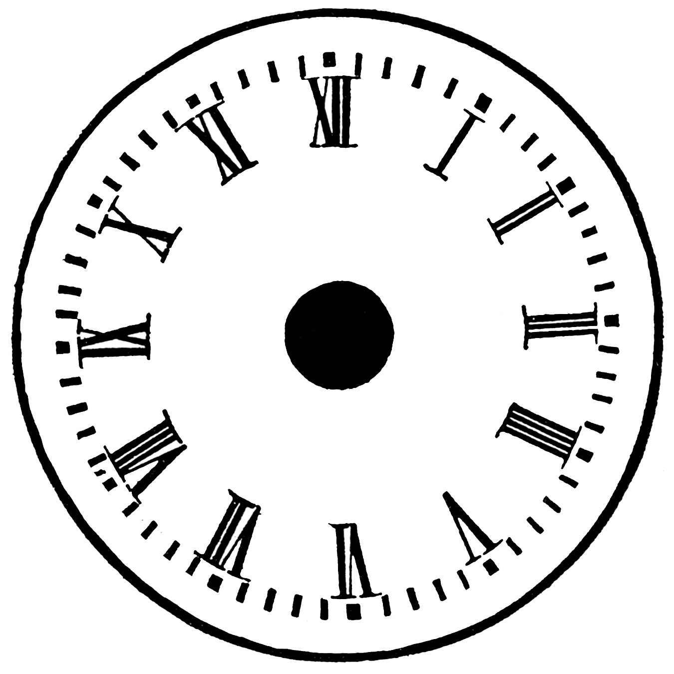 Blankogue Clock Faces