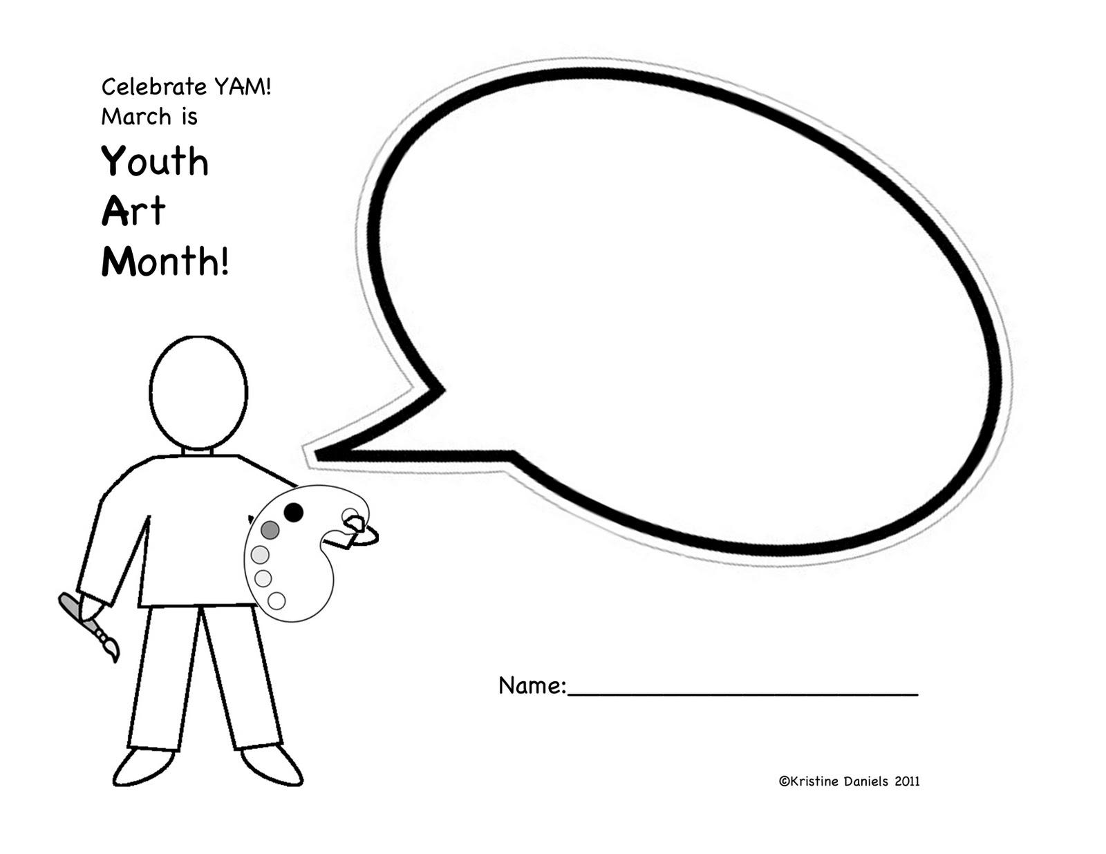Blank Speech Bubble Template