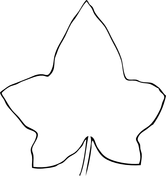 Easy Grape Leaf Template