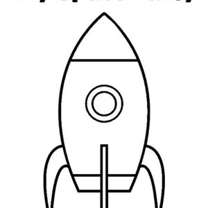 Rocket Ship Earth And Saturn Coloring Page Rocket Ship Earth And Clipart Best Clipart Best