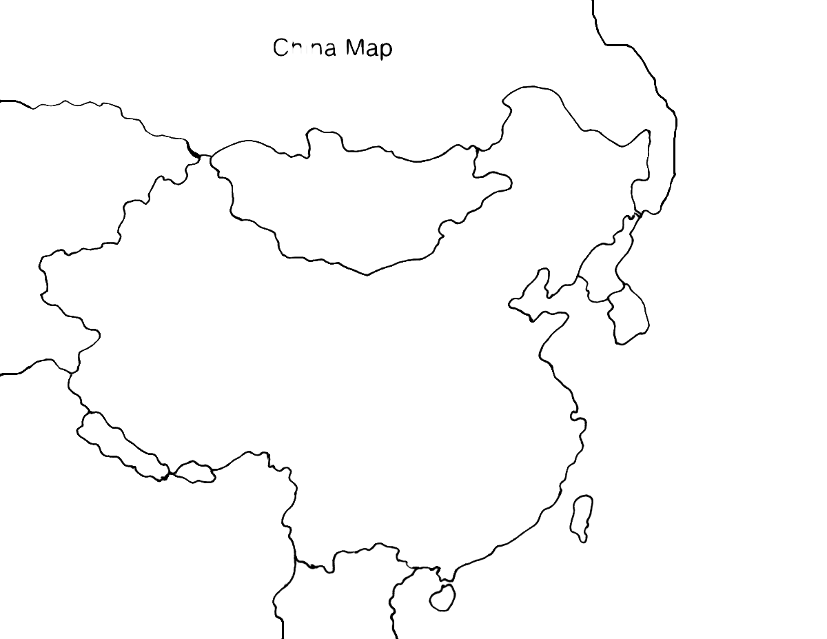 China Map Clip Art
