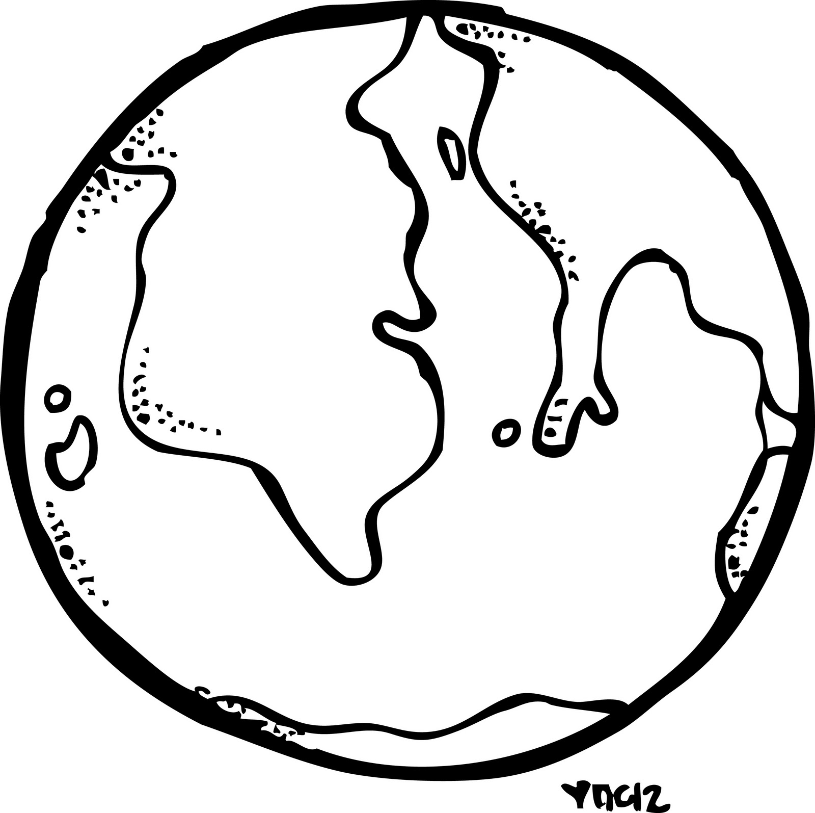 The Earth Drawing