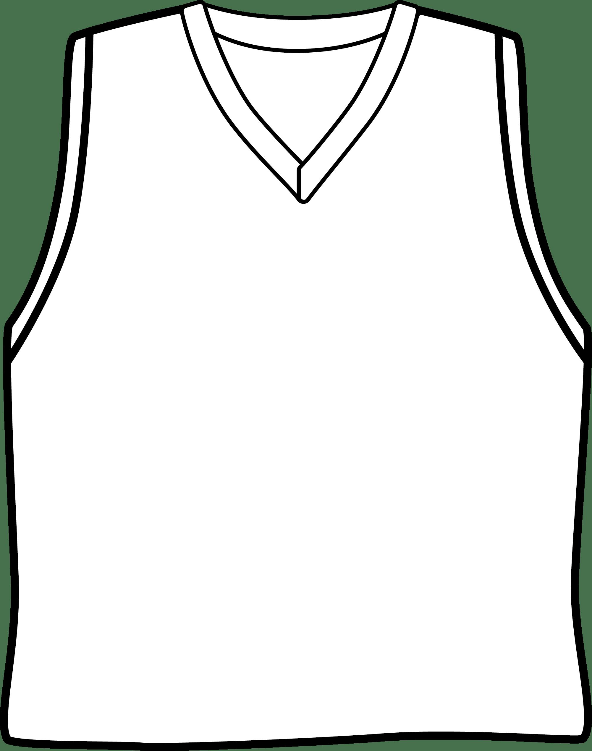 Basketball Shirt Clipart