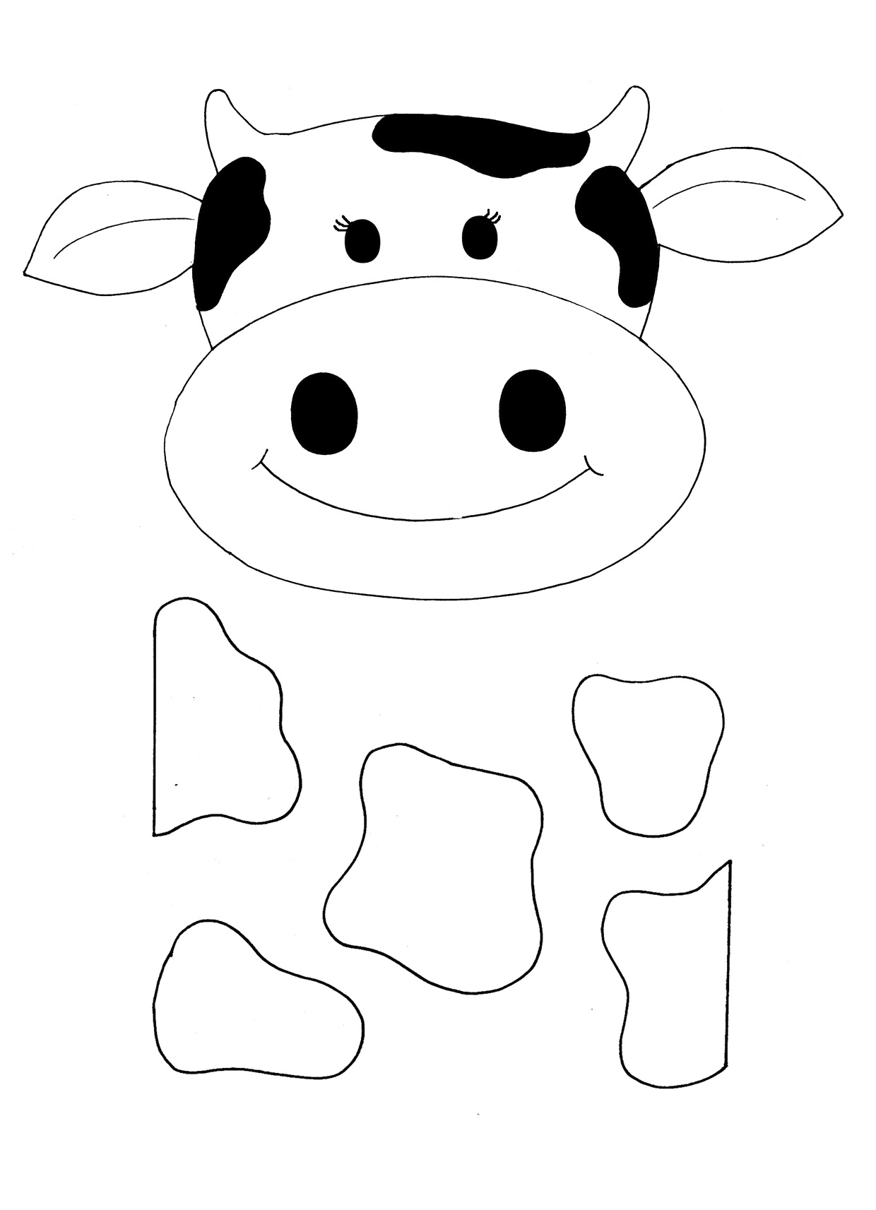 Cow Template