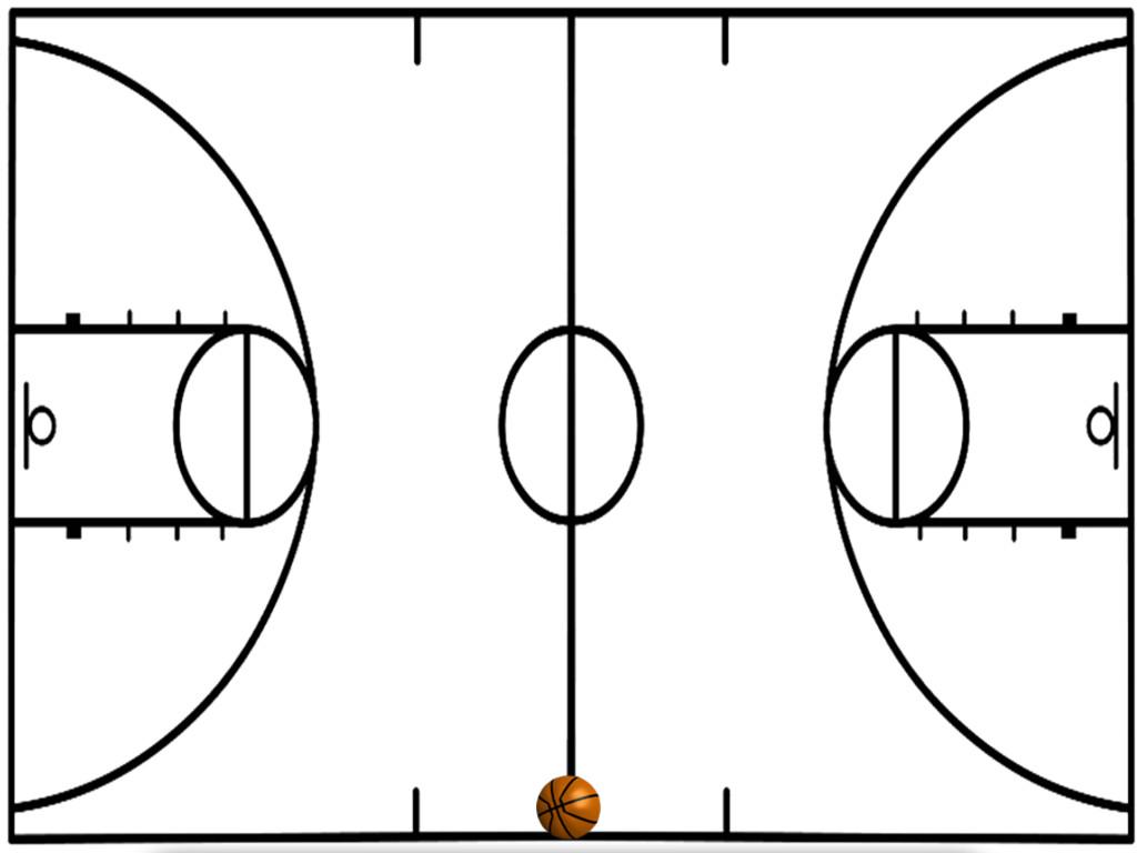 Basketball Half Court Diagrams Printable
