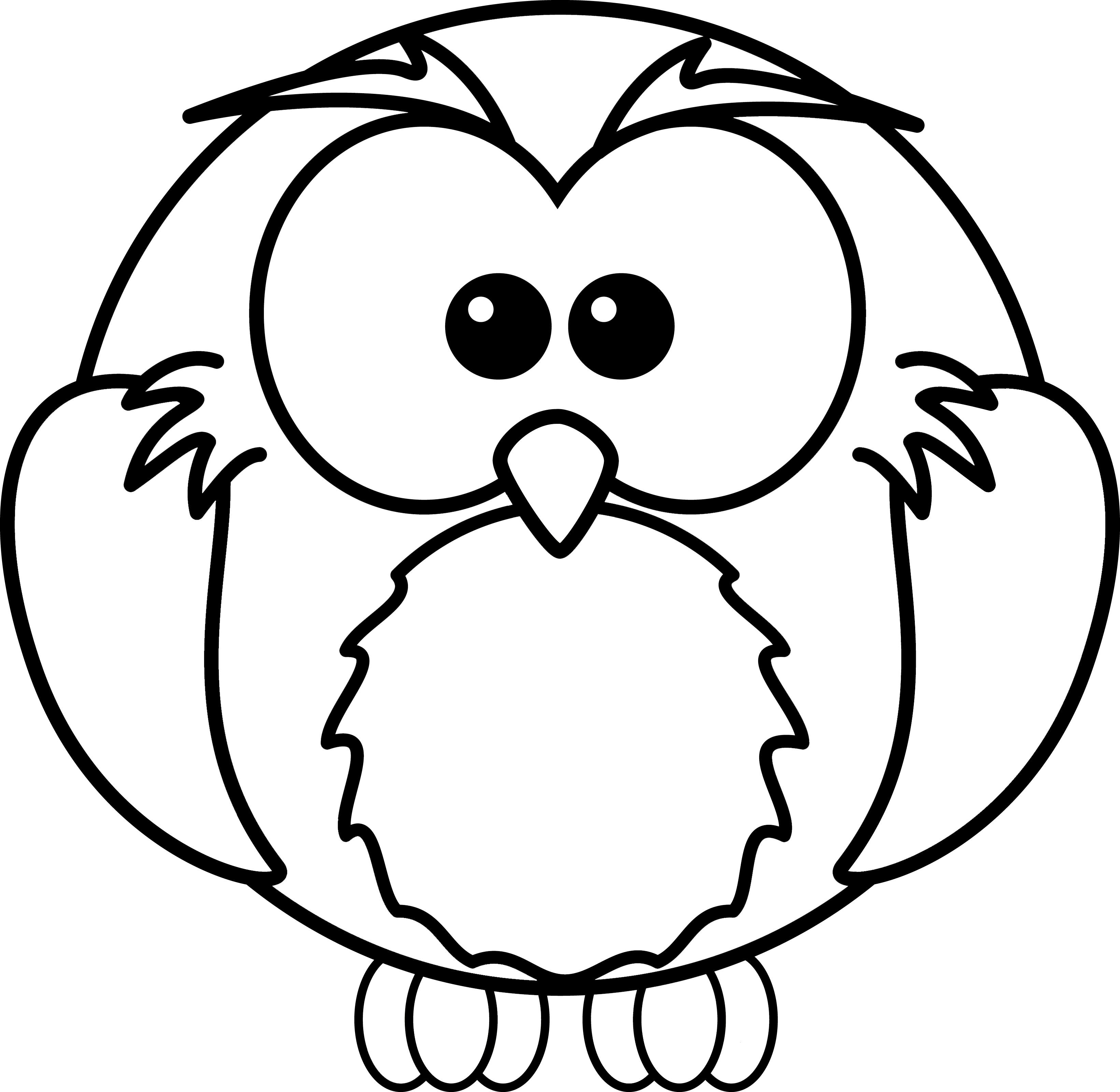 Cute Halloween Owl Clip Art