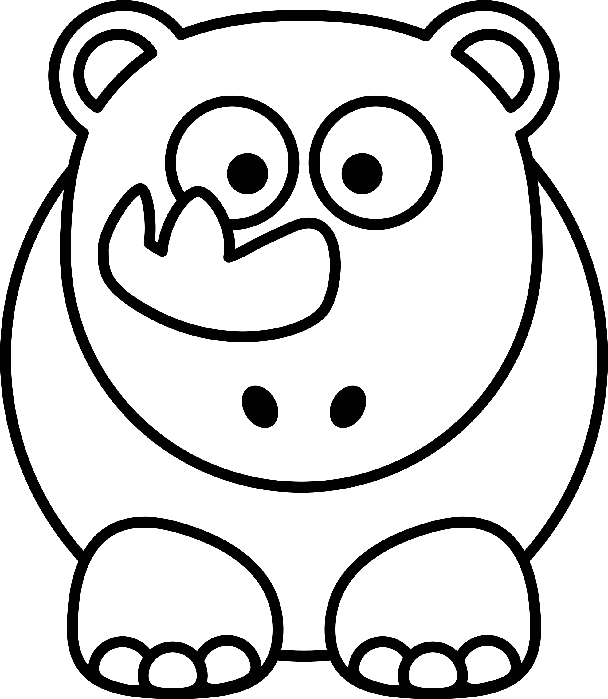 Clipart Line Drawings
