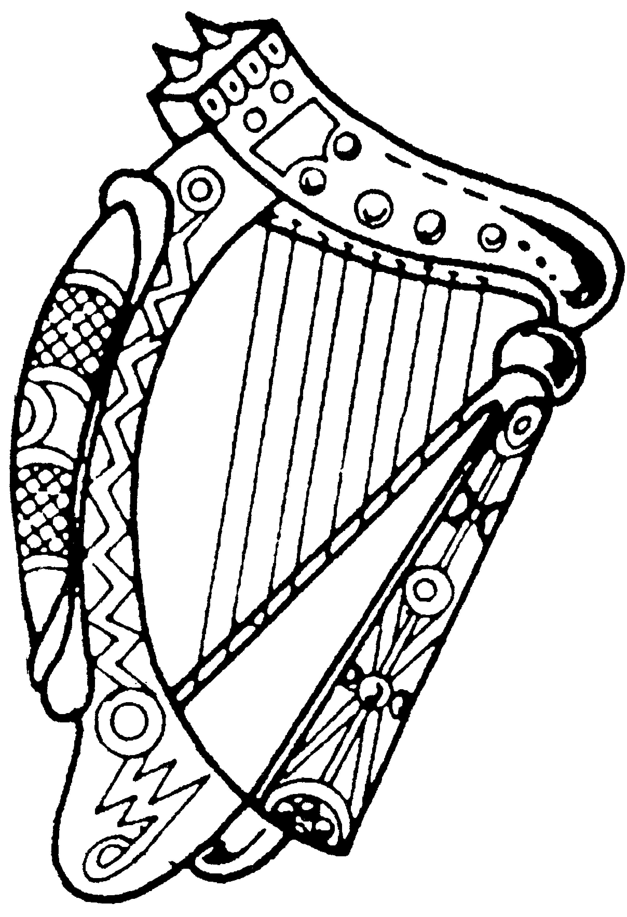 Celtic Harp Pictures