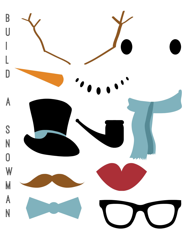 Snowman Parts Clip Art