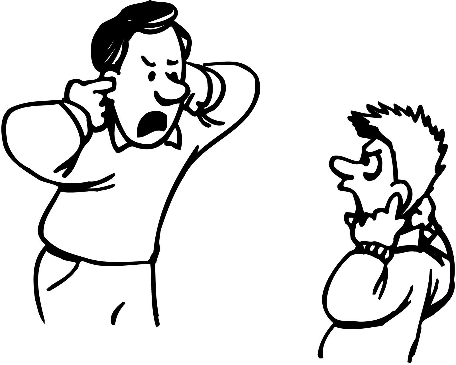 Drawings Of People Fighting