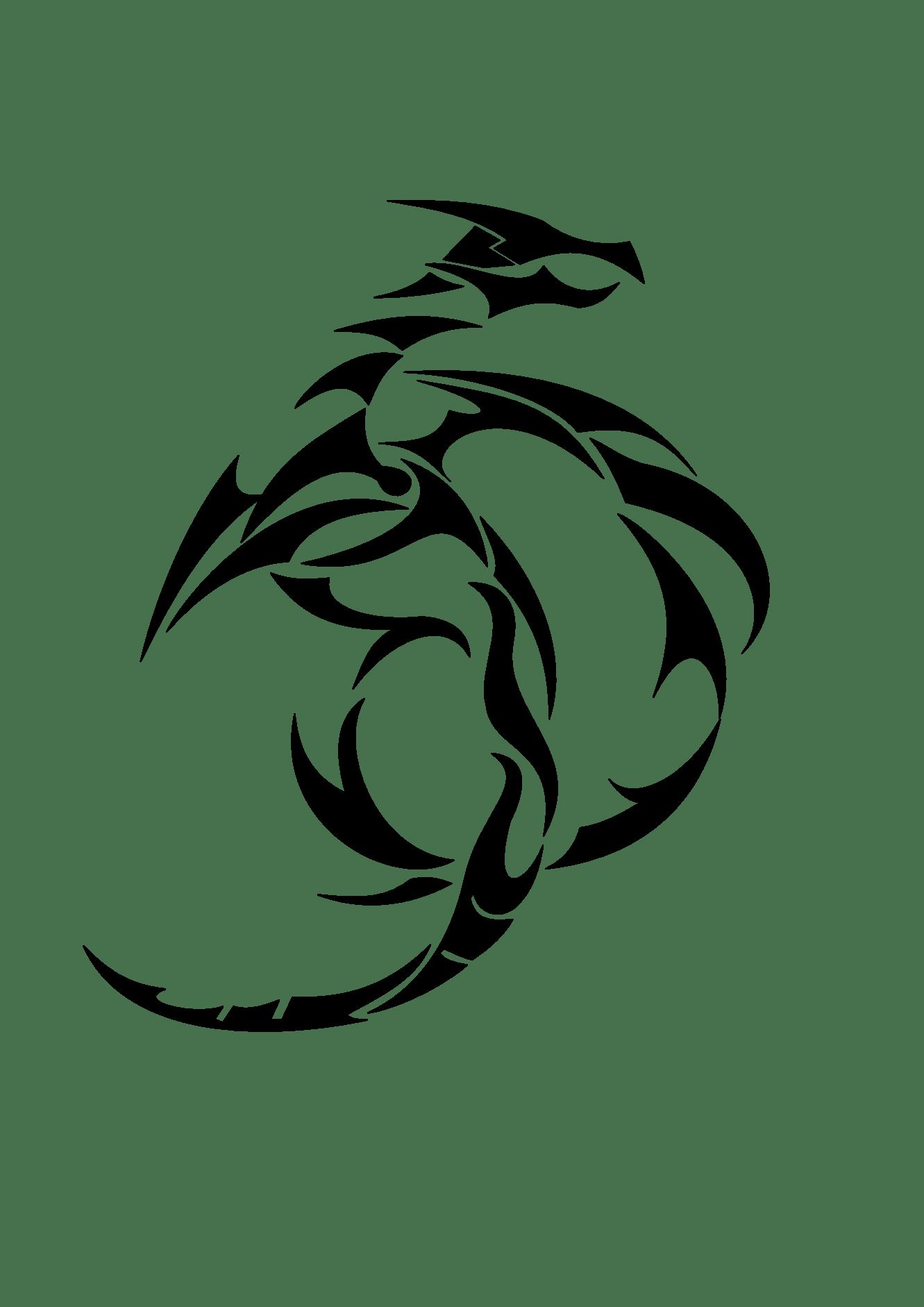 Clip Art Dragons