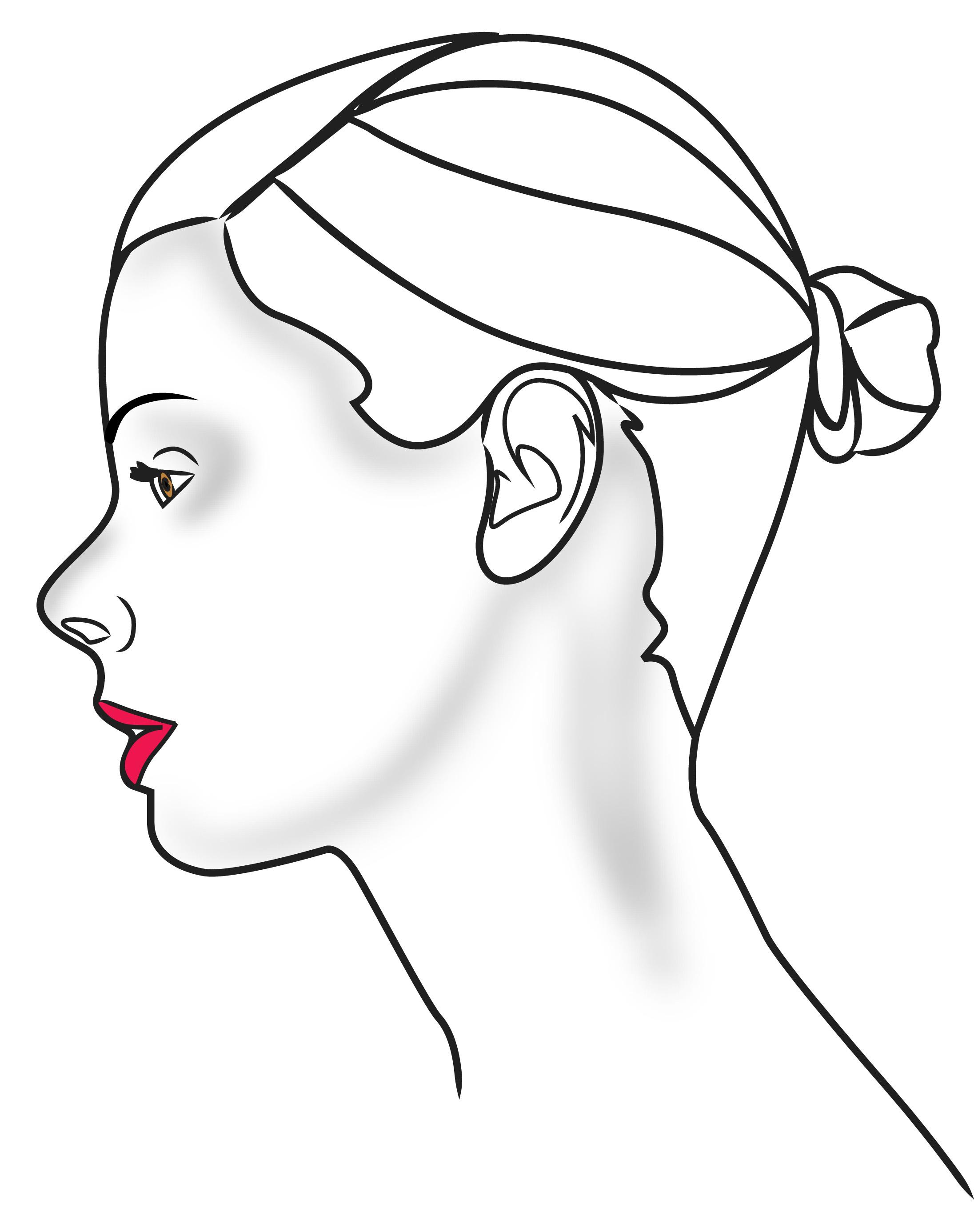 Human Head Outline