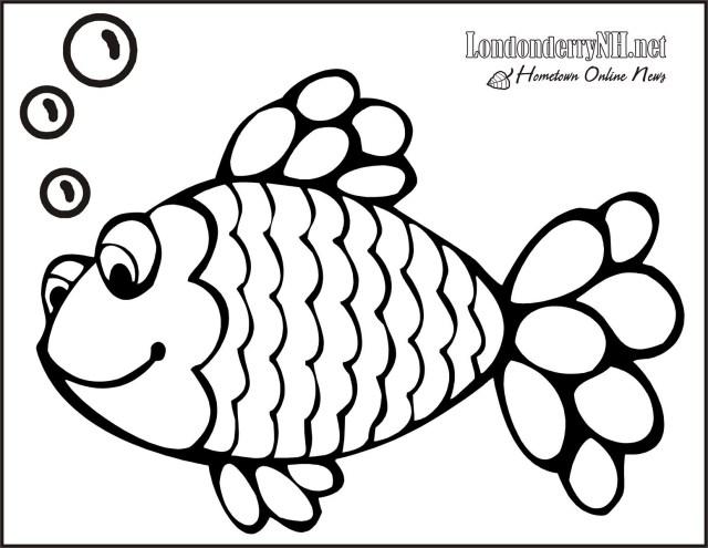 Rainbow Fish Coloring Page Fish Coloring Pages Pdf Fish Coloring