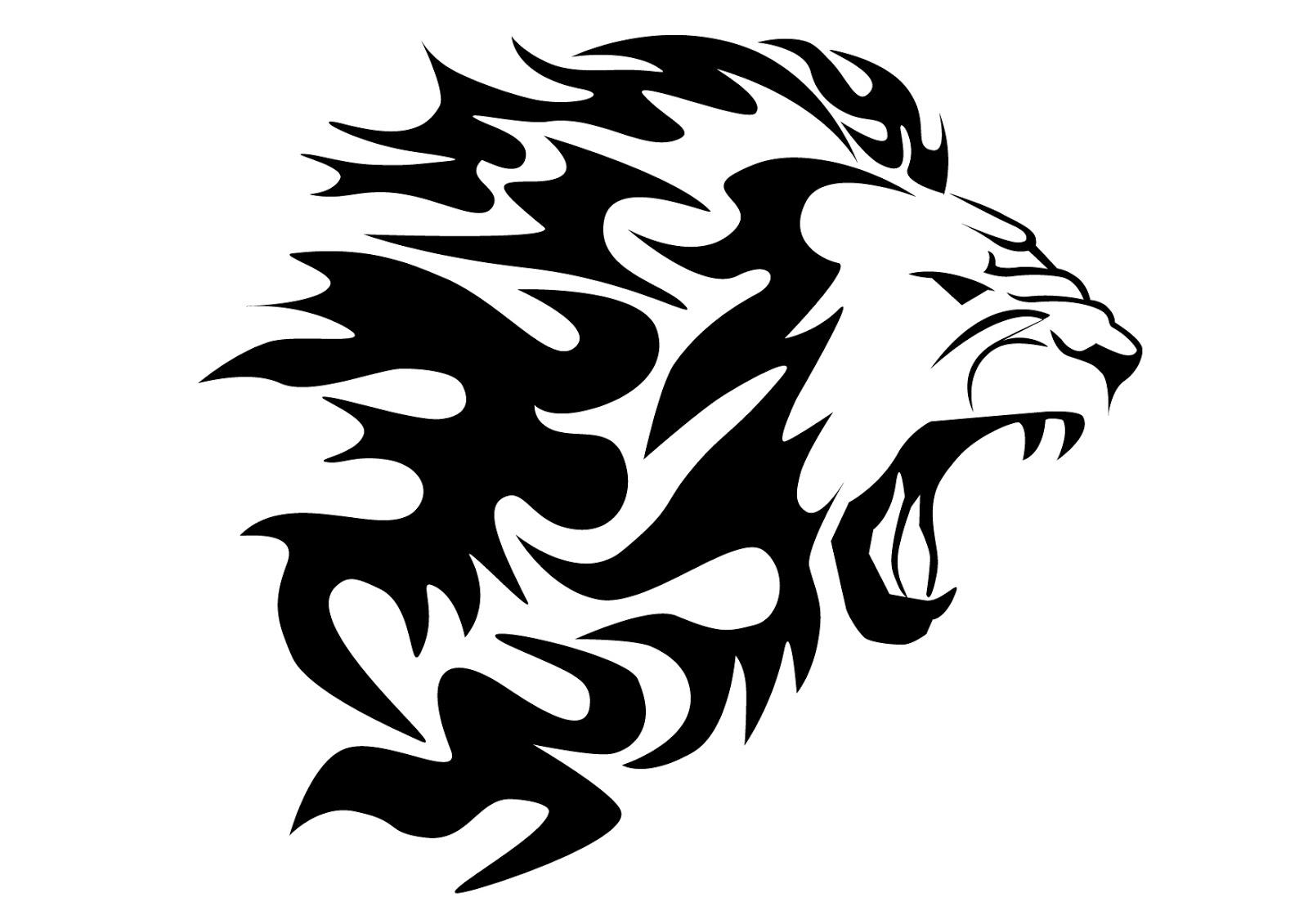 Simple Lion Symbol