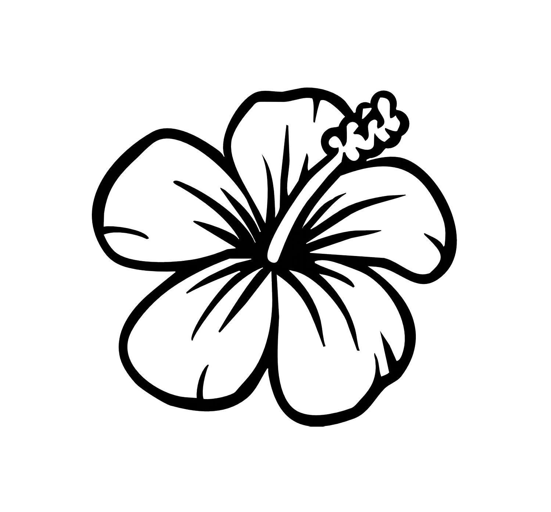 Hawaiin Flower Template