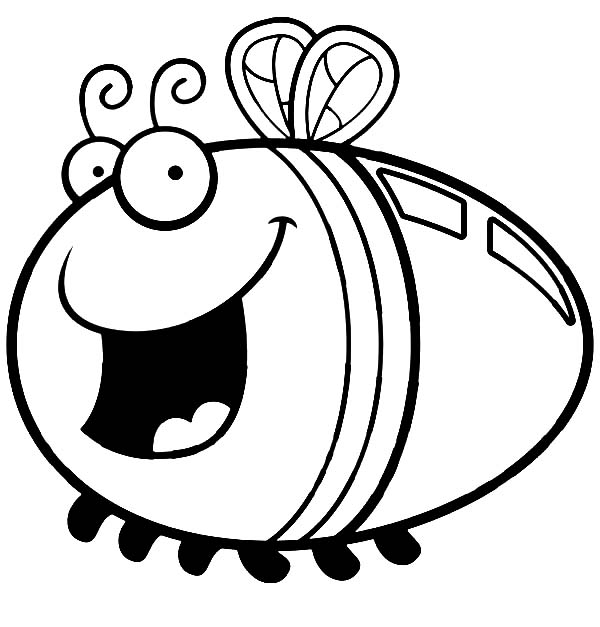 lightning bugs coloring sheets  clipart best