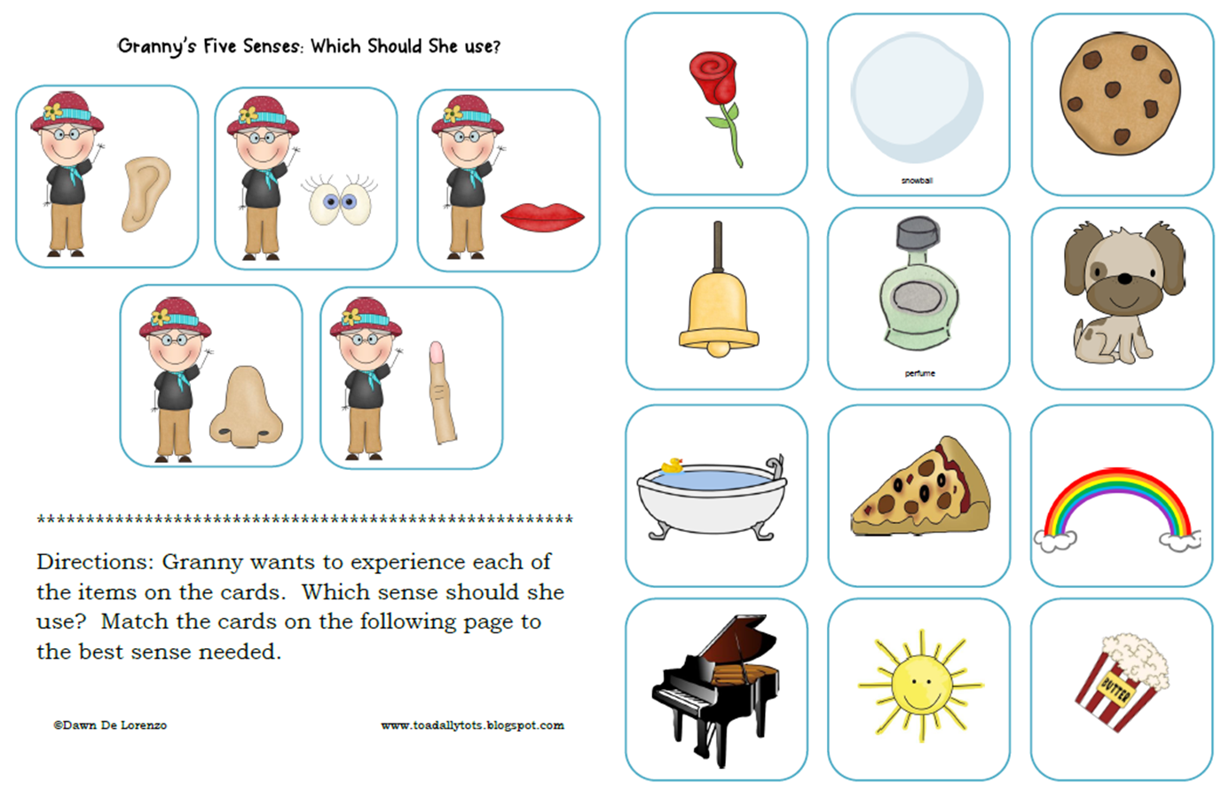 Five Senses Clipart