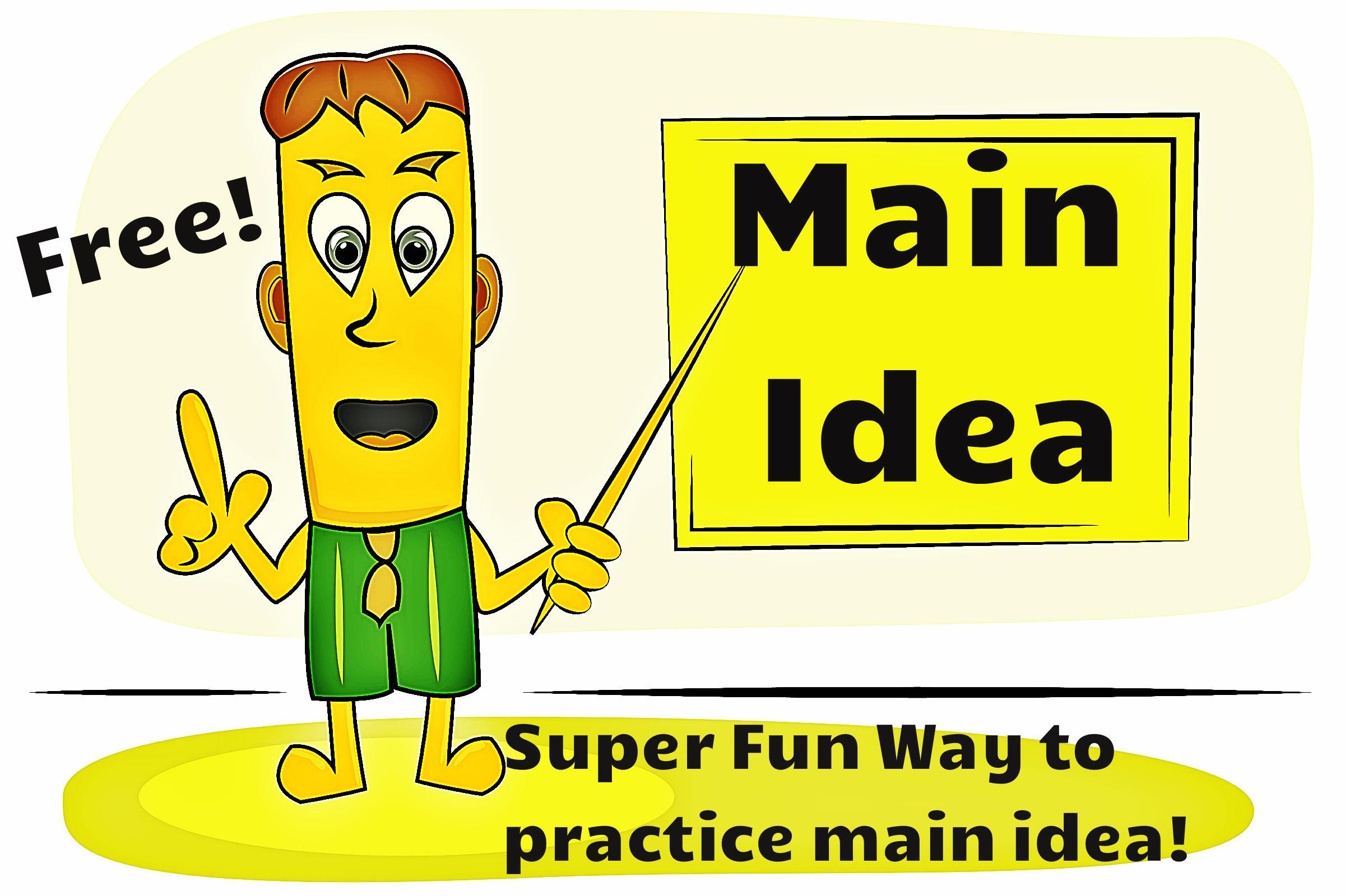 Main Idea First Grade Powerpoint