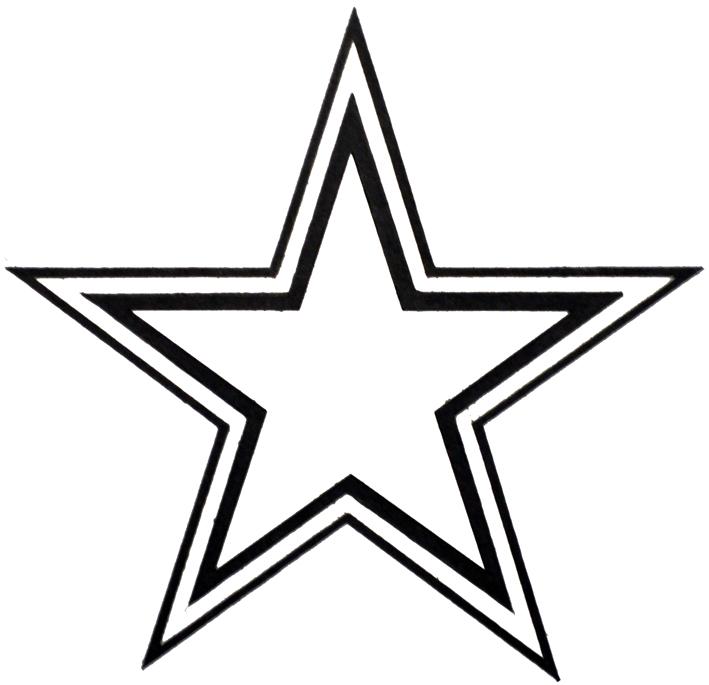 Cowboys Star Outline Dallas