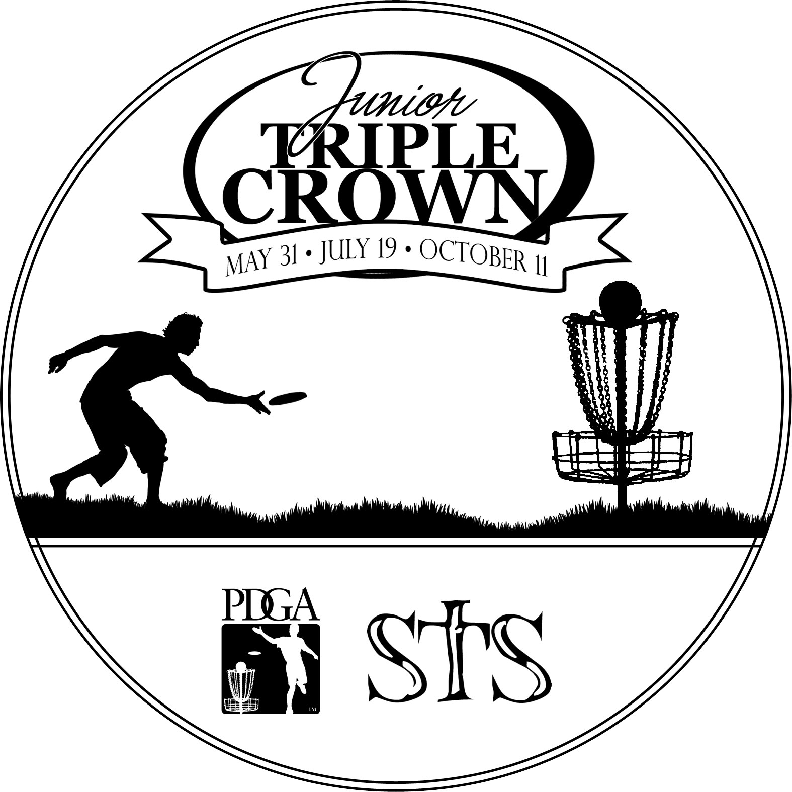 Disc Golf Clip Art