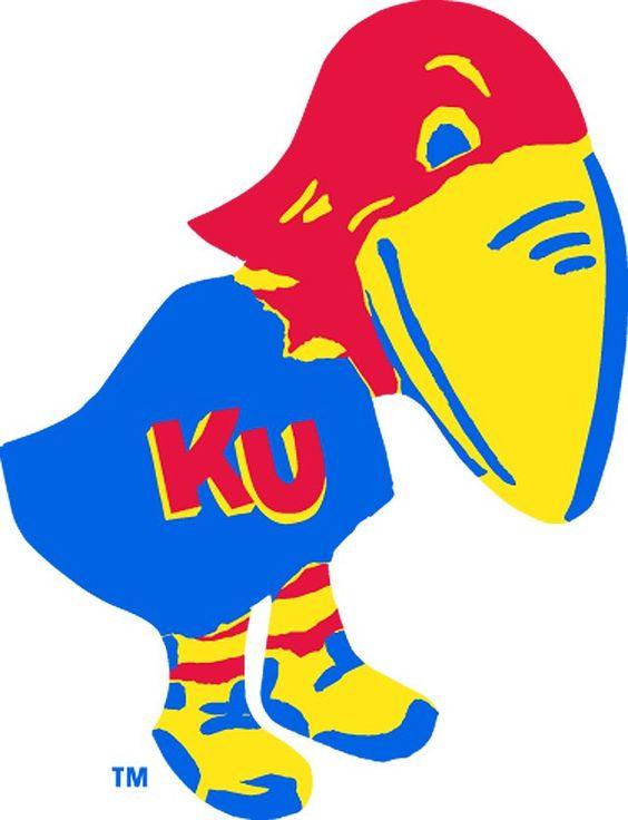 Kansas University Jayhawk Clip Art