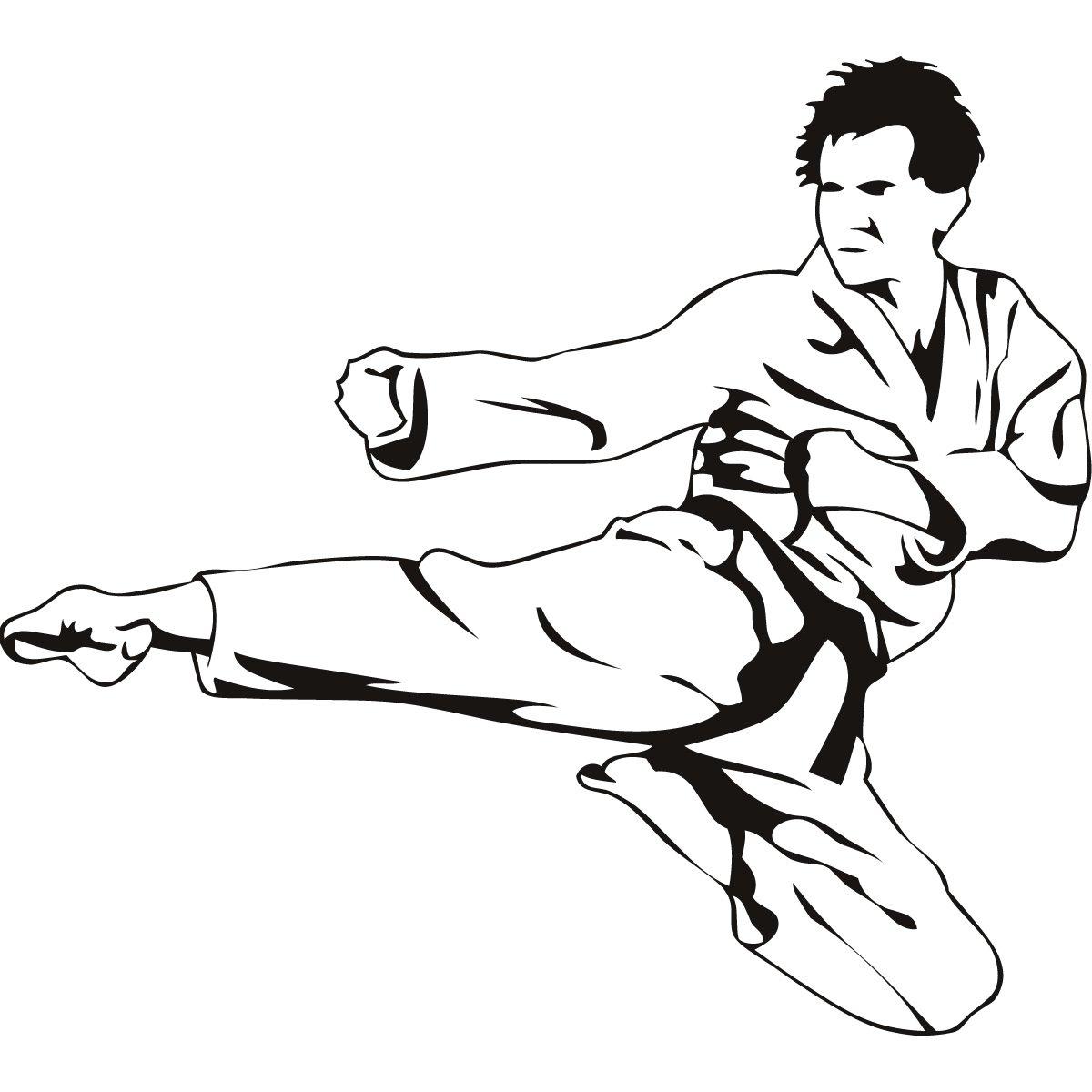 Karate Fighters Drawings