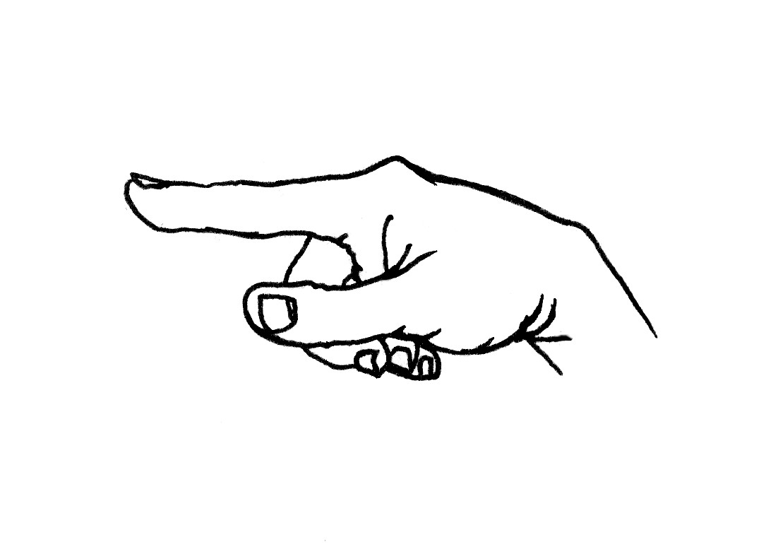 Picture Of A Finger Pointing