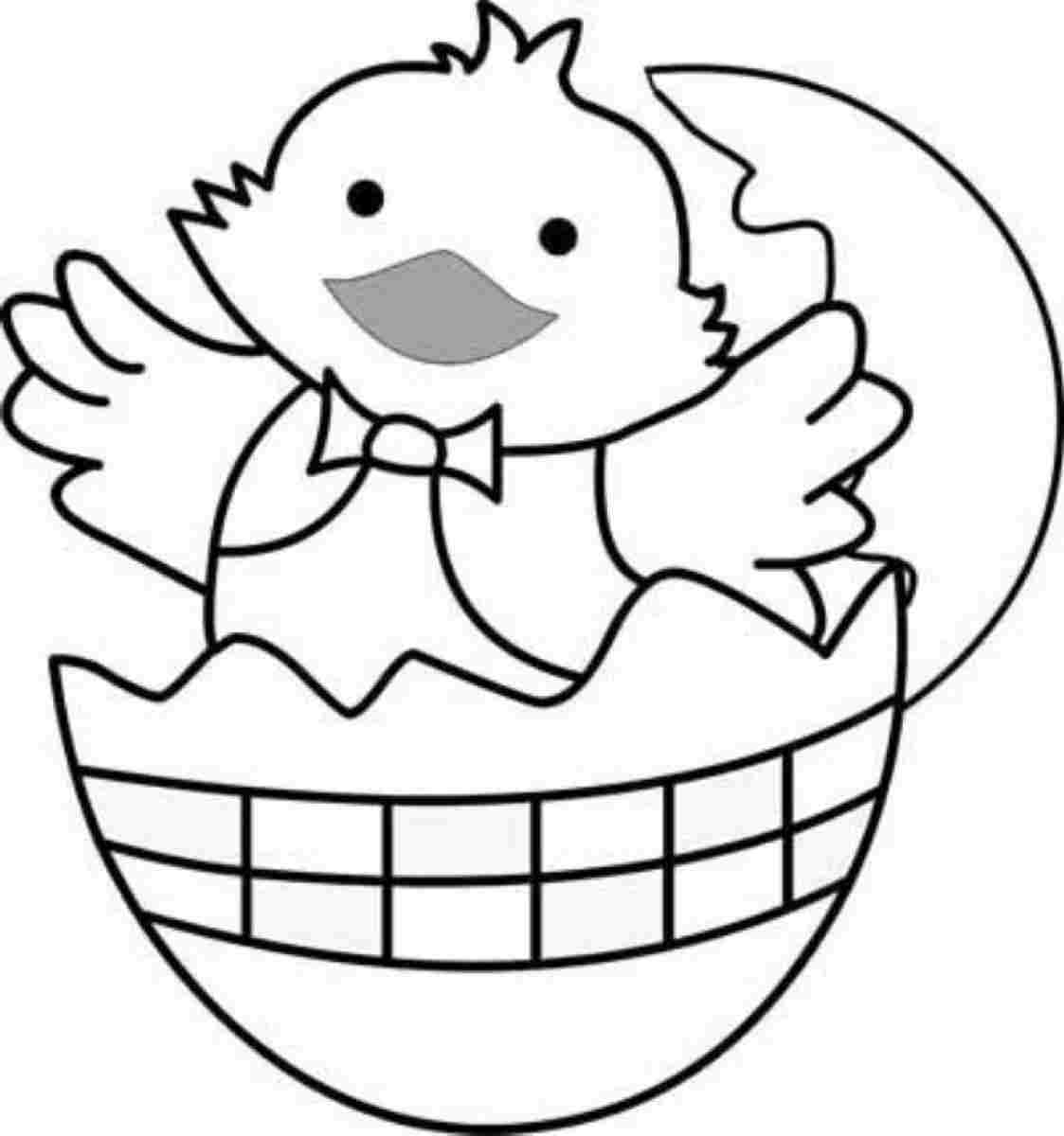 Easter Bunny Templates For Kindergarten