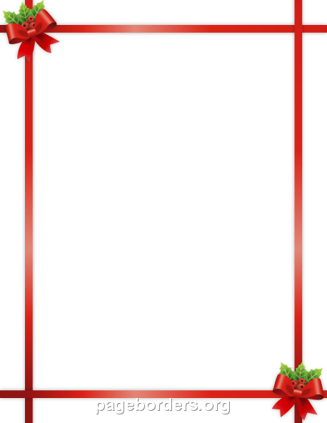 Large Candy Cane Outline